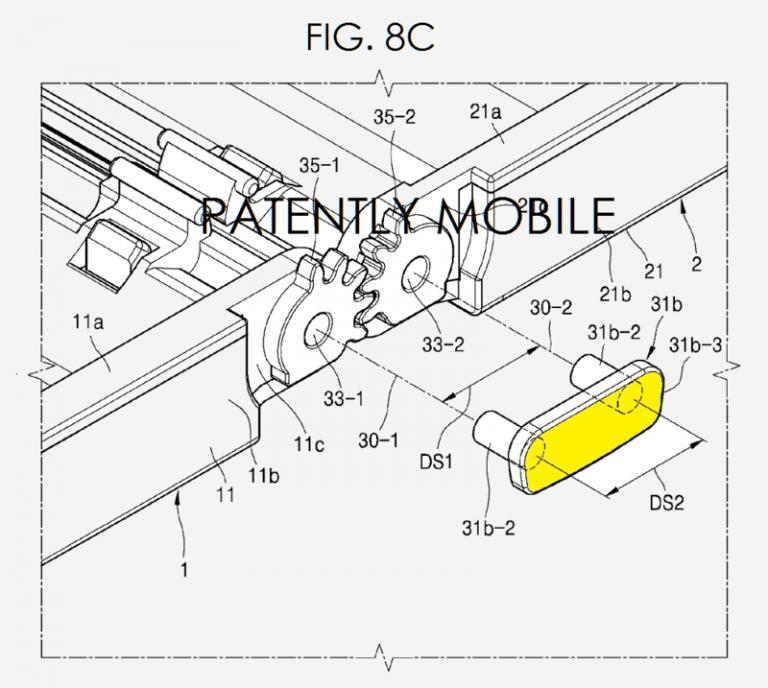Faltbares Smartphone Patent