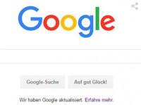 [FLASH NEWS] Google und das neue Logo