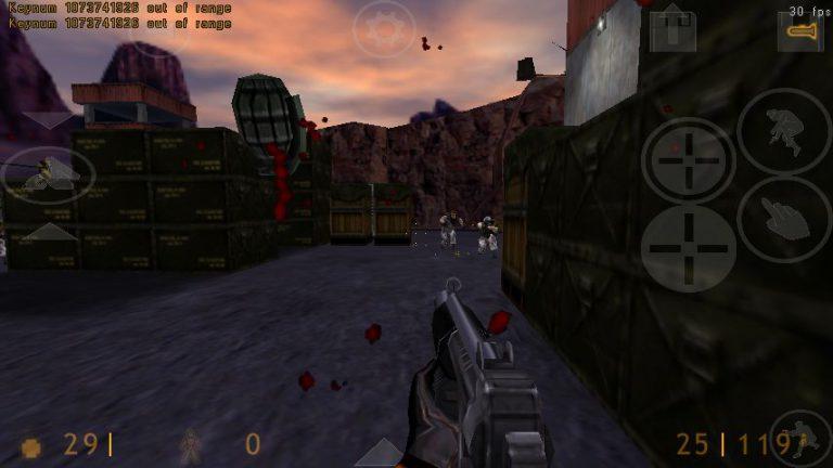 Half-Life in Xash3D