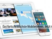 iOS 9 bekommt erstes Mini-Update gegen kleine Bugs