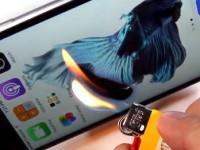Das Apple iPhone 6s im Feuer-, Kratz- und Biegetest!