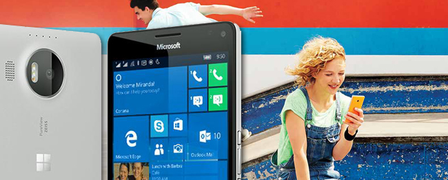Microsoft Lumia 950 und Lumia 950 XL mit Windows 10 Mobile