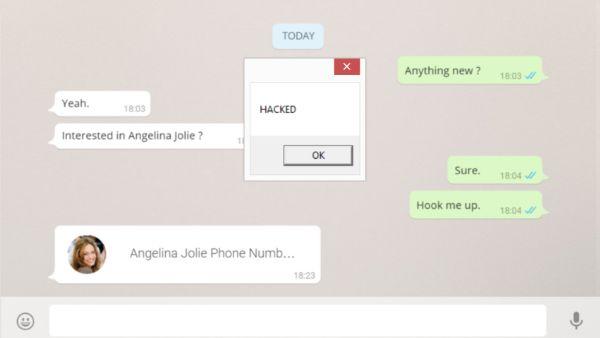 WhatsApp Web gehackt