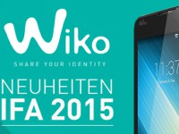 [IFA 2015] Wiko präsentiert das LENNY 2, RAINBOW JAM und SUNSET 2