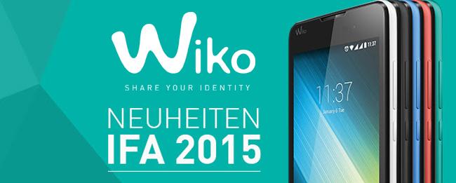 Wiko IFA 2015