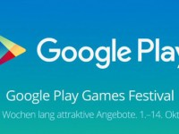 Gaming Festival bei Google Play: Geld sparen bis 14. Oktober