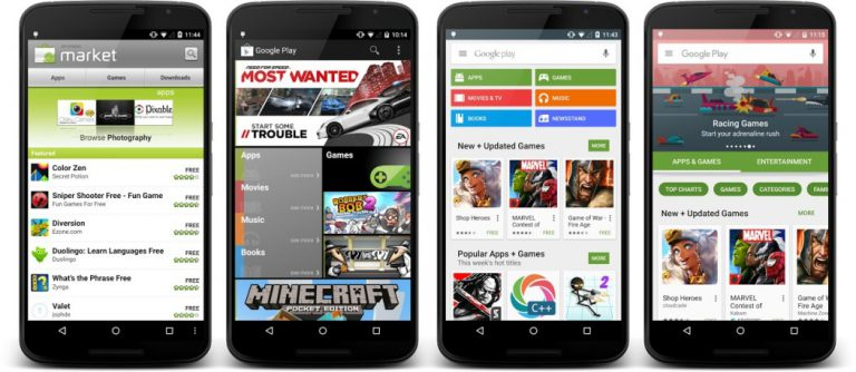 Google Play Store 6.0 Re-Design
