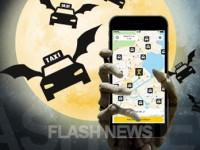 [FLASH NEWS] mytaxi übernimmt die erste Halloween Taxifahrt!
