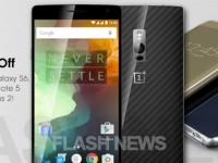 [FLASH NEWS] OnePlus tauscht das Samsung Galaxy S6 gegen ein OnePlus 2