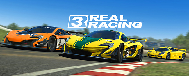 Real Racing 3 McLaren-Update