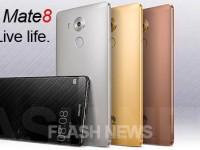 [FLASH NEWS] Huawei Mate 8 zeigt sich auf ersten Pressebildern