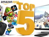 Top 5 Spiele für den Amazon Fire TV