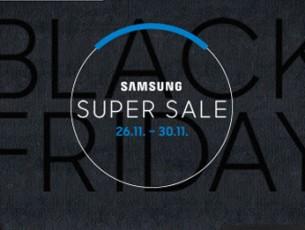 Black Friday – Schnäppchenflut im Samsung Online Store