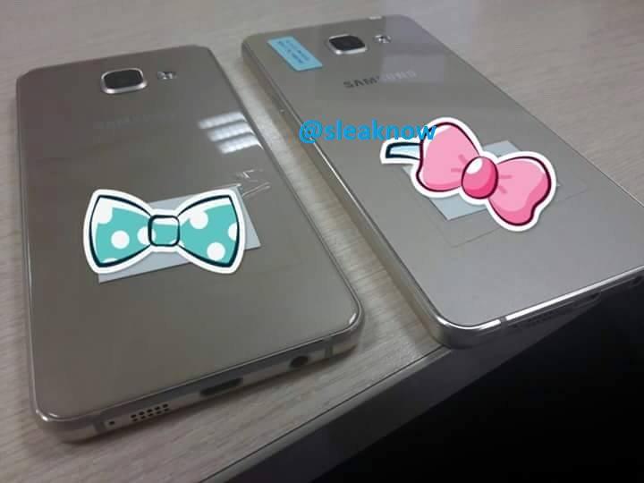 Samsung Galaxy A3 und Samsung Galaxy A5