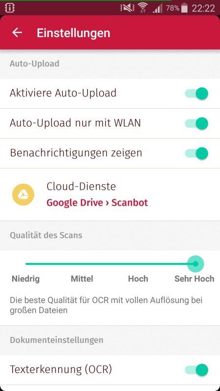 Scanbot Test