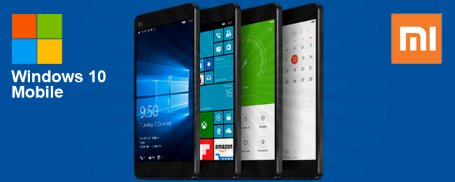 Windows 10 Mobile für das Xiaomi MI4