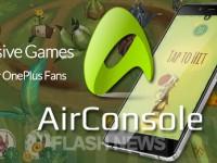 [FLASH NEWS] OnePlus gibt Kooperation mit AirConsole bekannt