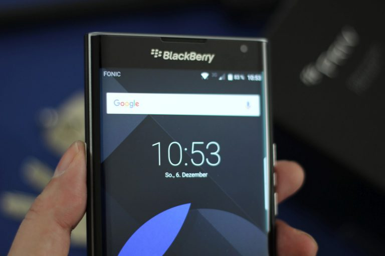 BlackBerry PRIV Test