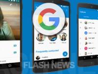 Google Telefon: Anstelle horizontal nun vertikal Gespräche annehmen