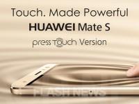[FLASH NEWS] Huawei Mate S mit Force Touch in Kürze erhältlich!