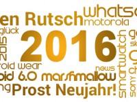 Gedanken, Dank und einen guten Rutsch ins Jahr 2016!