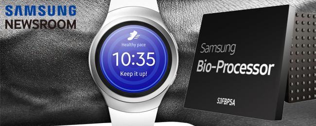 Samsung Gear S3 mit Bio-Prozessor und Venen-Scanner