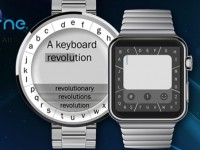TouchOne Keyboard: Erste Android Wear Smartwatch Tastatur