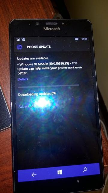 Windows 10 Mobile Build 10586.29 Update