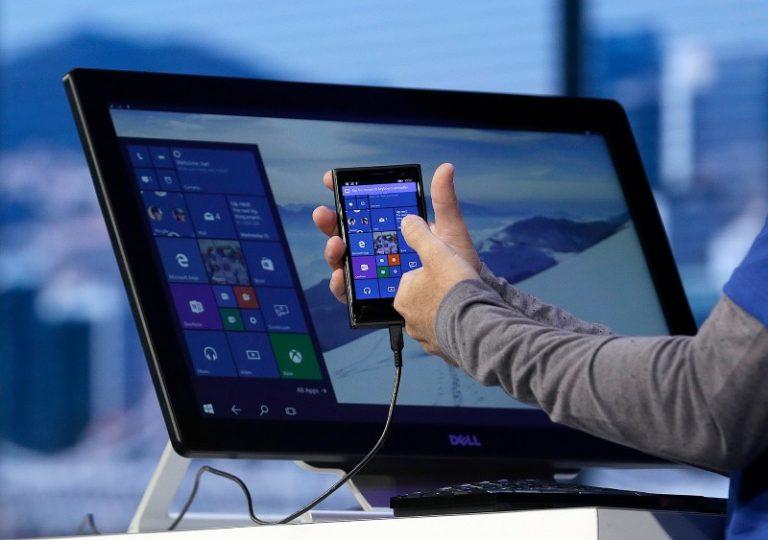 Windows Continuum für Windows 10 Mobile