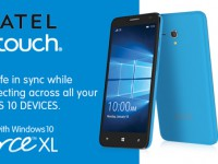 [CES 2016] ALCATEL ONETOUCH Fierce XL mit Windows 10 Mobile vorgestellt