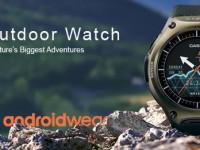 Casio WSD F10: Android Wear Smartwatch mit einem Monat Laufzeit