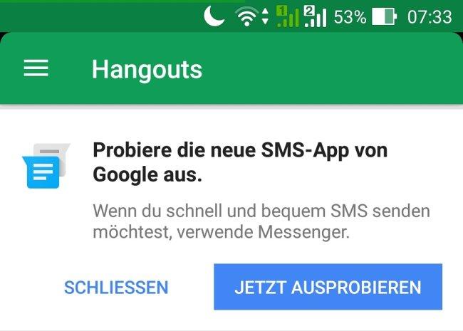 Google Hangouts 7.0
