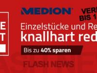 [FLASH NEWS] Medion verlängert Online Outlet-Tage