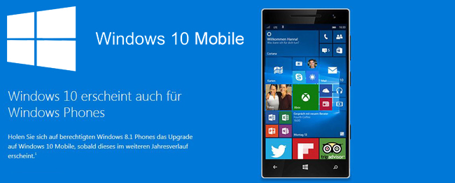 Windows 10 Mobile vs. Windows Phone 8.1