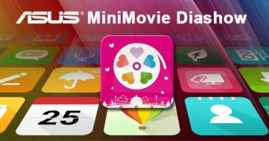 App-Editorial ASUS MiniMovie Diashow