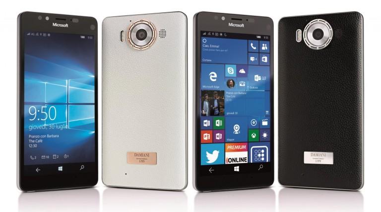 Microsoft Lumia 950 Damiani Edition