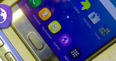 Samsung Browser mit AdBlocker Plugin AdBlock Fast