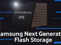 Samsung kündigt internen UFS Speicher mit 256 GB an