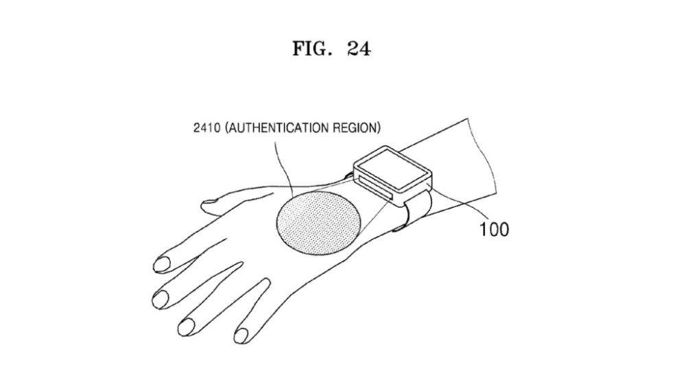 Samsung Gear S3: Venen-Scanner zur Nutzer-Identifikation?