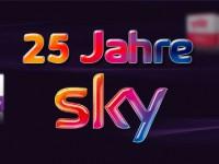 Sky feiert Geburtstag: 25 Jahre Pay-TV in Deutschland