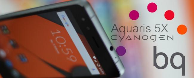 BQ Aquaris 5X Test