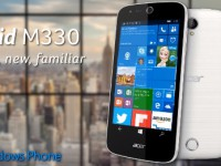 Acer Liquid M330 mit Windows 10 Mobile erreicht Europa