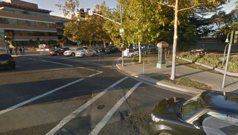 Google Car Unfall