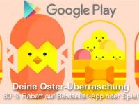 Oster-Überraschung: 80 Prozent Rabatt im Google Play