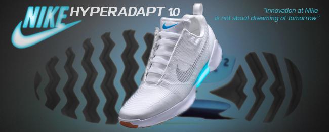 best service 7dd20 d1e95 Nike HyperAdapt 1.0 Selbstschnürende Schuhe kommen zu Weihna