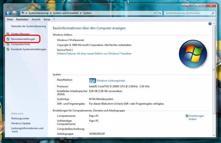 Remote Desktop für Lumia 950