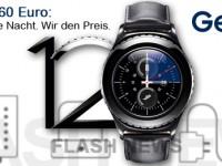 [FLASH NEWS] Samsung Gear S2 kaufen und 60 Euro sparen!