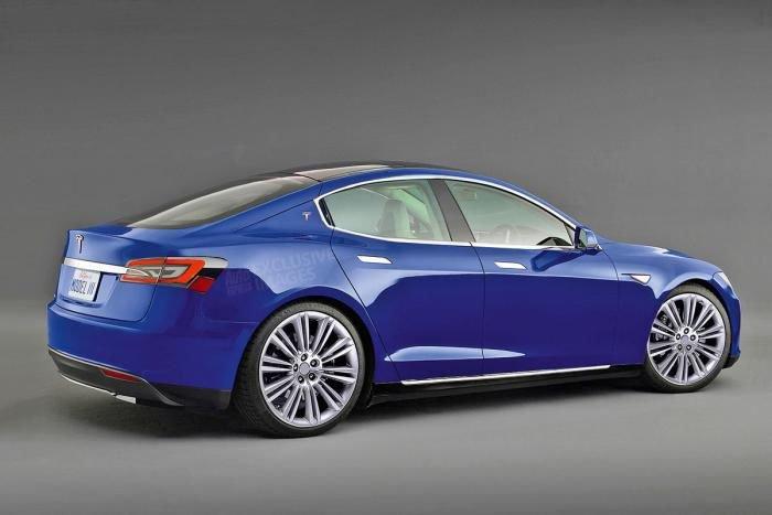Tesla Model 3 Konzept