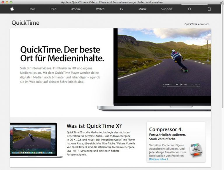 Apple QuickTime Player