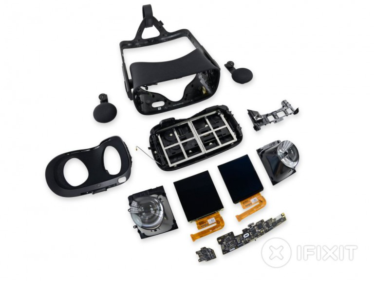 Oculus Rift Teardown